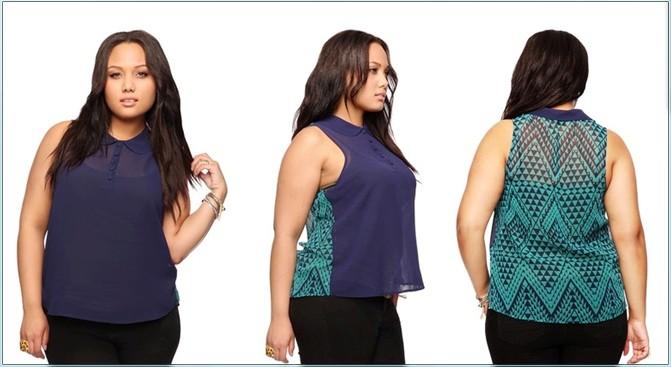 Одежда Для Полных Молодых Женщин