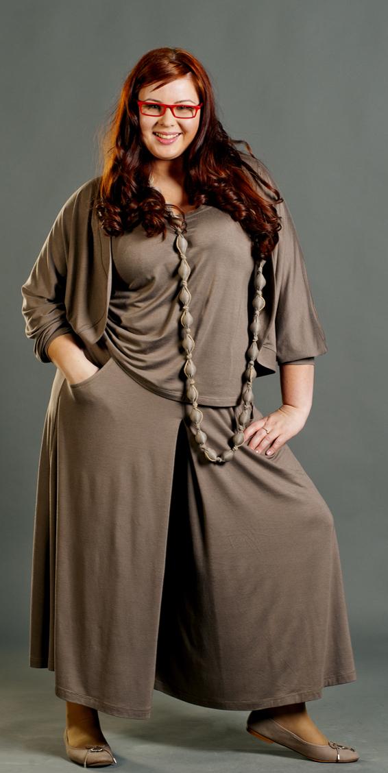Модная юбка для толстых