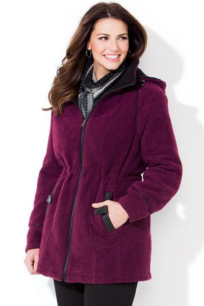Зимняя одежда для полных женщин интернет магазин