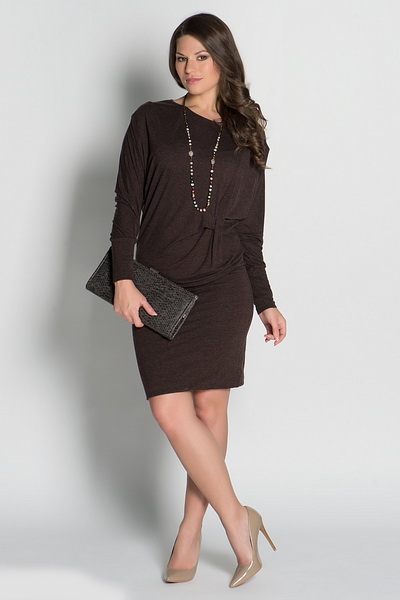 Платья деловой стиль для полных женщин