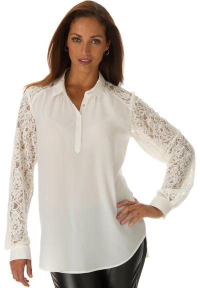 Блузки Белые Больших Размеров Купить