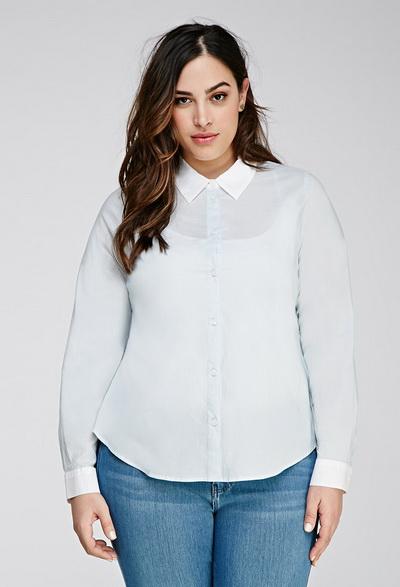 Купить блузку для полных женщин