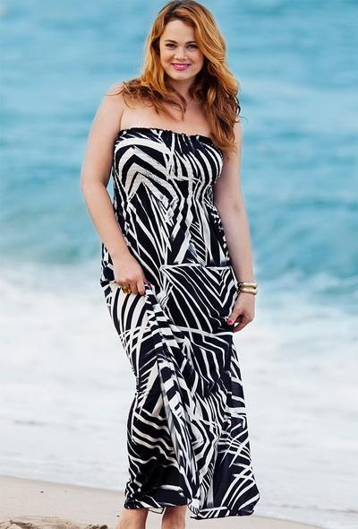 Пляжная одежда больших размеров