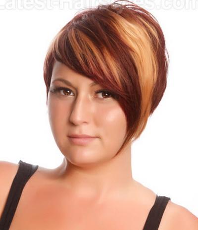 Креативные стрижки для круглого лица короткие волосы